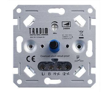 Tradim 2489H 500W LED gradateur mural