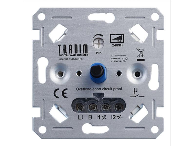 Tradim 2489H 500W LED Wanddimmer