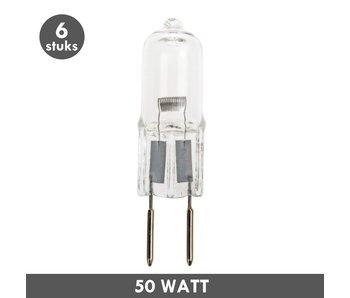 ET48 G6.35 Steckerleuchte 12 Volt 50 Watt