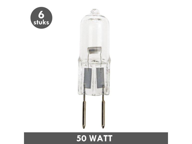 ET48 Halogeen G6.35 steeklampje 12 Volt 50 Watt