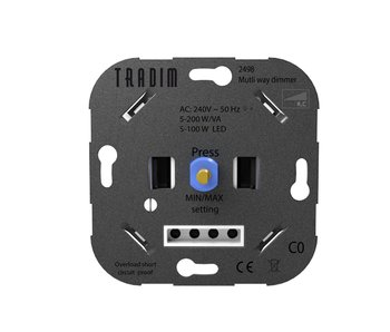 Tradim 2498 Multicontrol wall dimmer