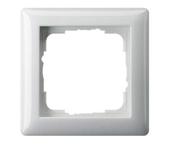 Gira Standard 55 Abdeckrahmen einfach Farbe Weiß 021103