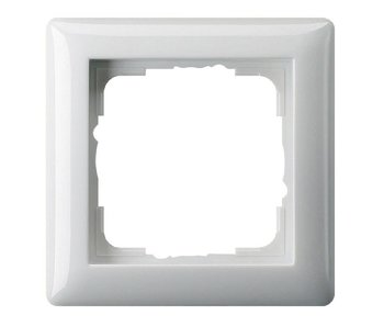 Gira Standard 55 cover frame single white  021103