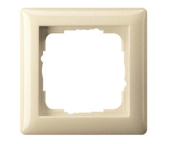 Gira Standard 55 Abdeckrahmen einfach cremefarben 021101