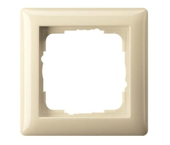 Gira Standard 55 cover frame single cream 021101
