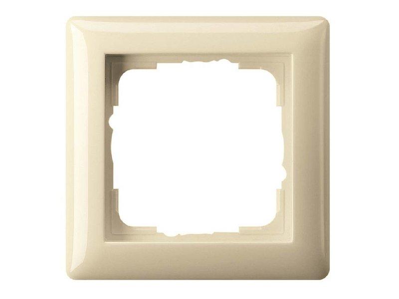 Gira Standard 55 cover frame single cream 021101