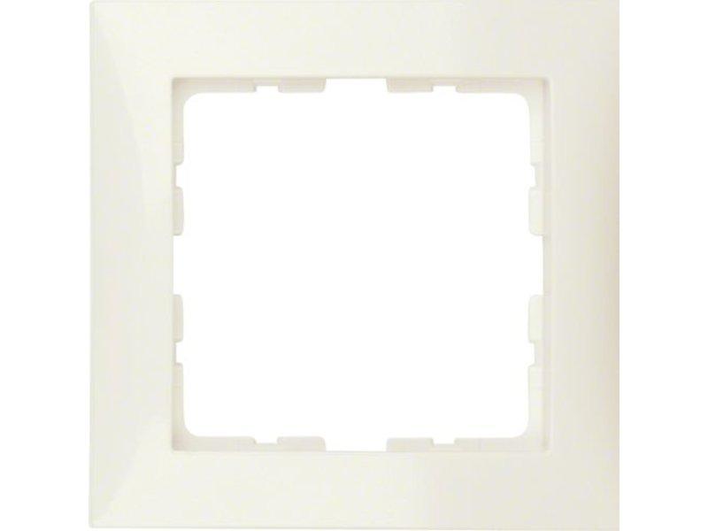 Berker S1 afdekraam enkelvoudig creme 10118982