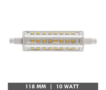 ET48 R7s tube LED lamp 118mm 10 watts dimmable