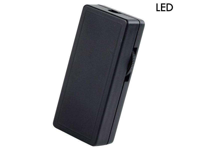 Tradim 62202 LED cord dimmer 1-40Watt black