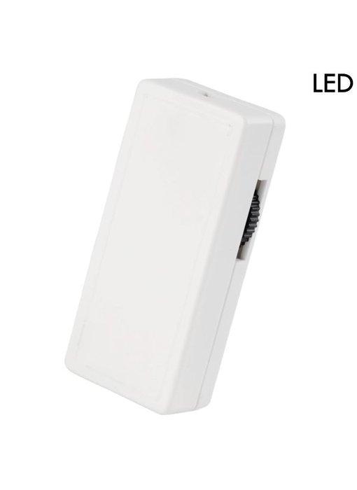 Tradim 62201 LED snoerdimmer 1-40 Watt wit