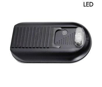 Tradim 631032-1 LED gradateur de sol avec 1-60 Watt noir