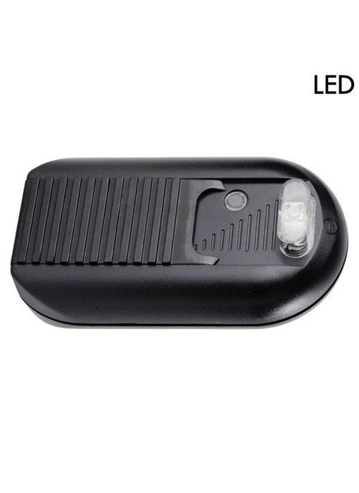 Tradim 631032-1 LED vloerdimmer met schakelaar 1-60 Watt zwart