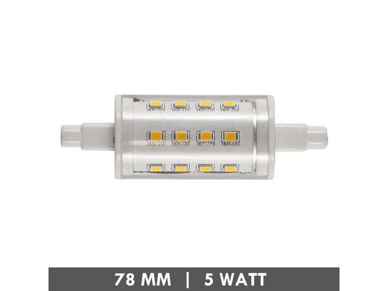 ET48 R7s lampe de tube 78mm 5 watts LED - Copy