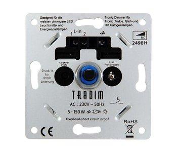 Tradim 2490HP LED tronic dimmer 5-150 Watt mit 8 Dimmer Profile
