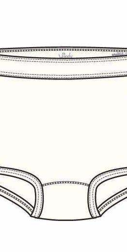 Woody Meisjes short, wit