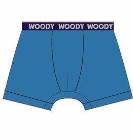 Woody Jongens short, felblauw