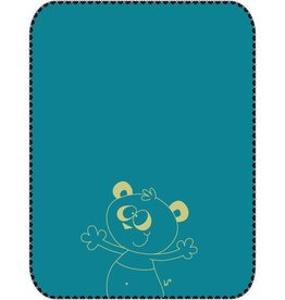 Woody Plaid, turquoise