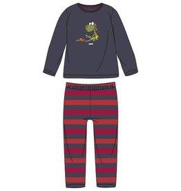 Woody Jongens pyjama, donkergrijs