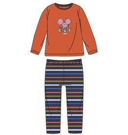 Woody Jongens pyjama, fel oranje