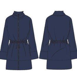 Woody Dames kamerjas, donkerblauw