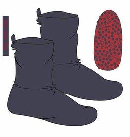 Woody Unisex pantoffels, donkergrijs