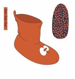 Woody Unisex pantoffels, fel oranje