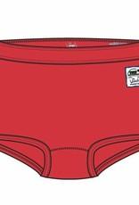 Woody Meisjes short, rood