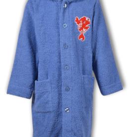 Woody Unisex badjas, blauw