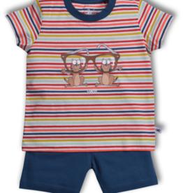 Woody Jongens pyjama, multicolor Stokstaartje gestreept