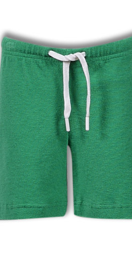 Woody Jongens-Heren short, groen