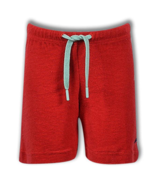 Woody Jongens-Heren short, burgundy rood