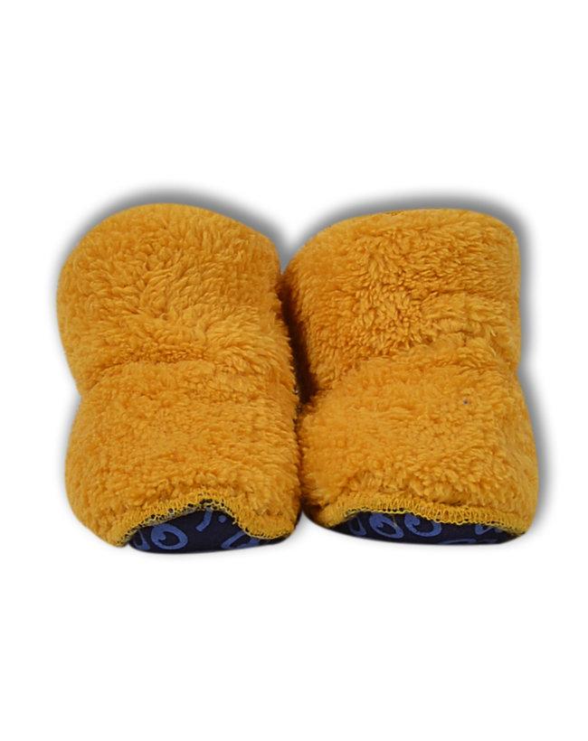 Woody Unisex Pantoffels, oker geel