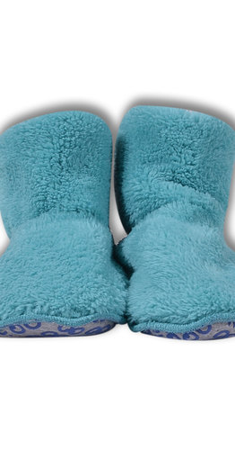 Woody Pantoffels, ijsblauw
