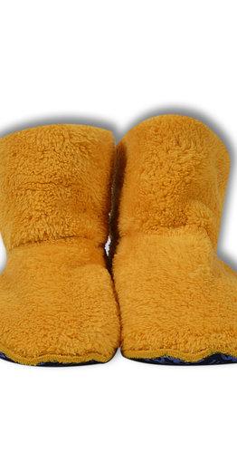 Woody Pantoffels, oker geel