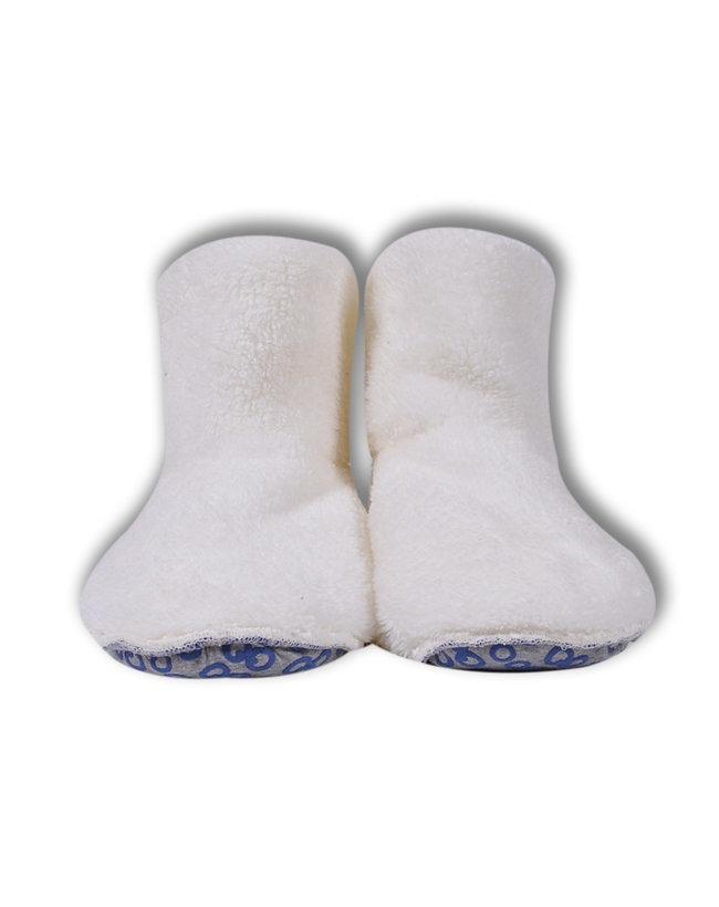 Woody Unisex Pantoffels, gebroken wit
