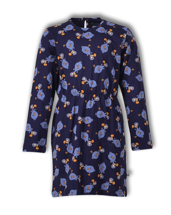 Woody Slaapkleed, donkerblauw dodo all-over print