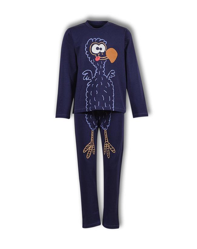 Woody Unisex pyjama, donkerblauw