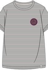 Woody Jongens-Heren top, grijs-wit gestreept