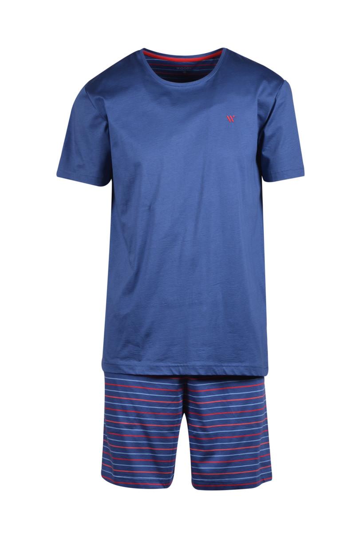 Woody Meisjes-Dames pyjama, Marineblauw