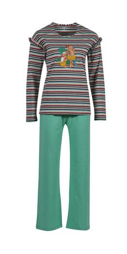 Woody Meisjes-Dames pyjama, jungle gestreept