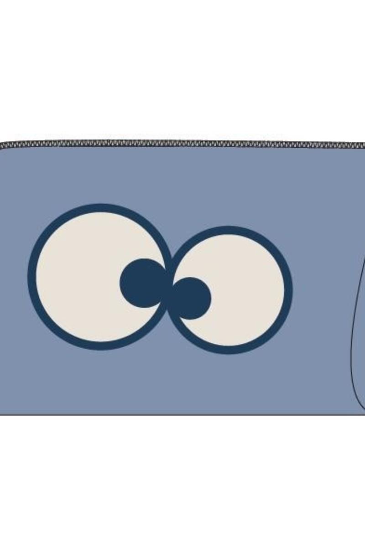Woody Tas, lichtblauw
