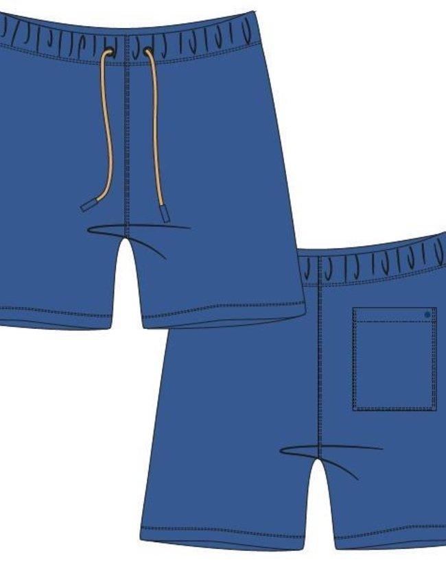 Woody Jongens-Heren short, koningsblauw