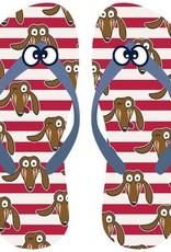 Woody Teenslippers, Hond
