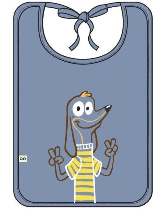 Woody Slabbetje, lichtblauw