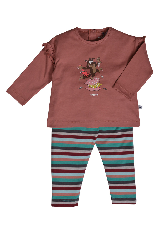 Woody Meisjes pyjama, blushroze