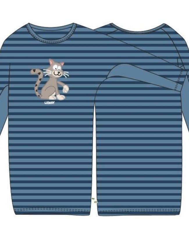 Woody Slaapkleed, donkerblauw-blauw