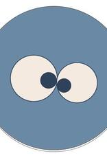 Woody Kussen, blauw