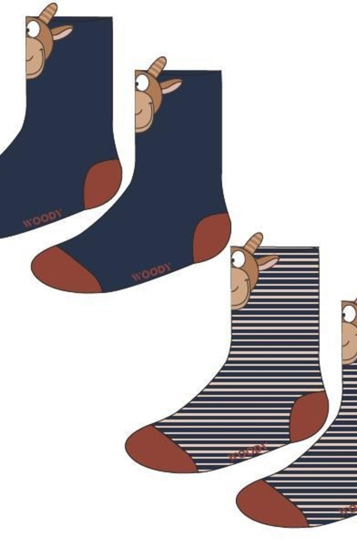 Woody Sokken, geit
