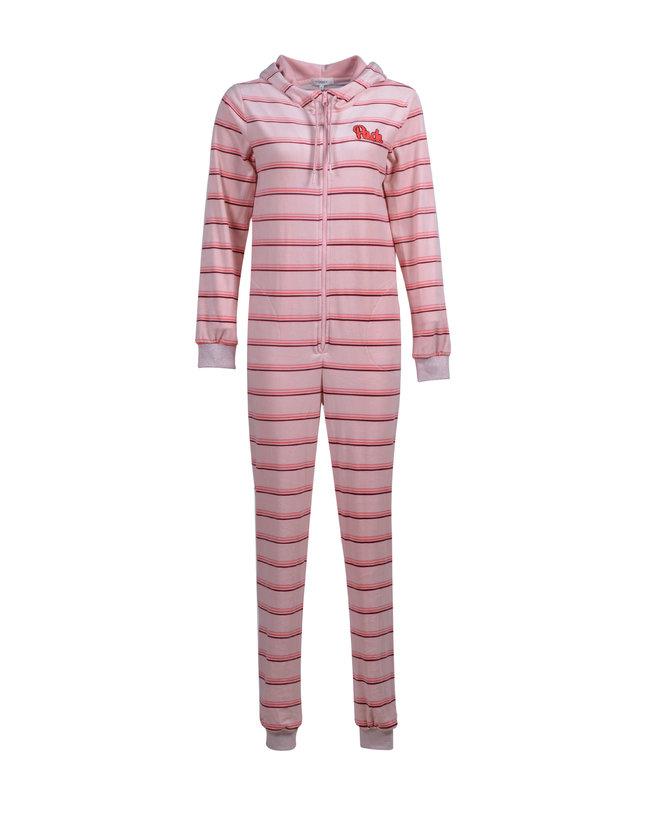 Woody Meisjes-Dames jumpsuit, roze