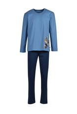 Woody Jongens-Heren pyjama, blauw